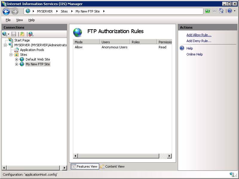 how to find the ftp of a website